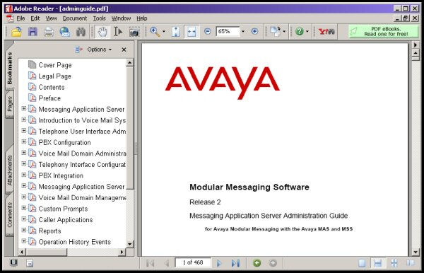 MAS Administration Guide for the Avaya MSS Server in PDF Format